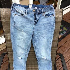 Women's  J Crew jeans size 26